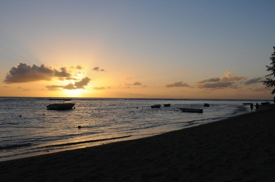 The Oberoi, Mauritius: Magical sunset