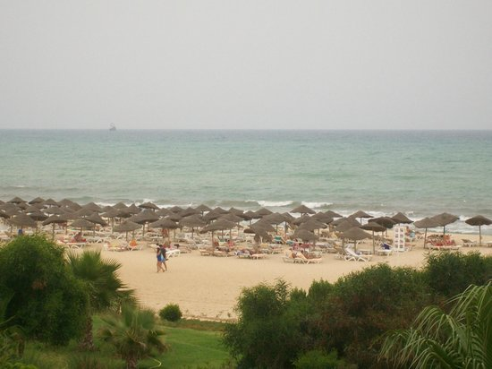 Smartline Hammamet Regency: our view from our room