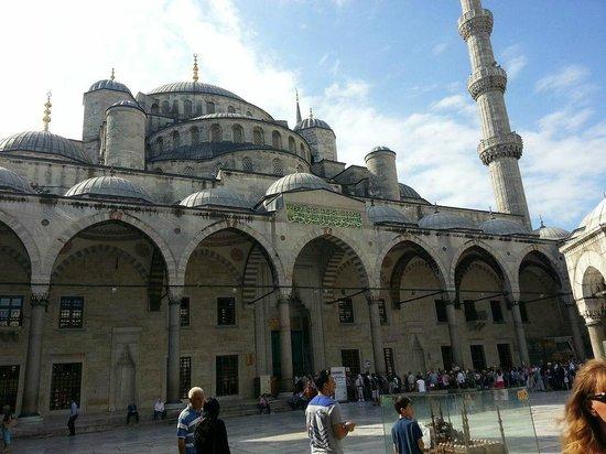 Mosquée Bleue (Sultan Ahmet Camii) : Grandiosa