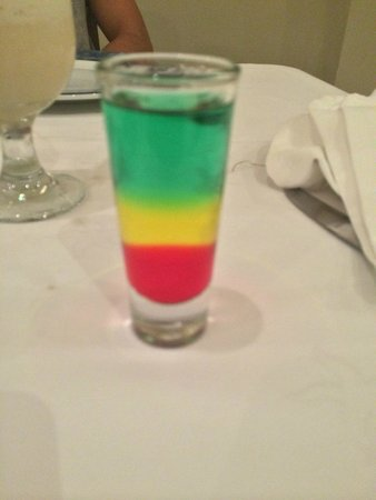 Iberostar Grand Hotel Rose Hall: Rasta Bob Marley drink!