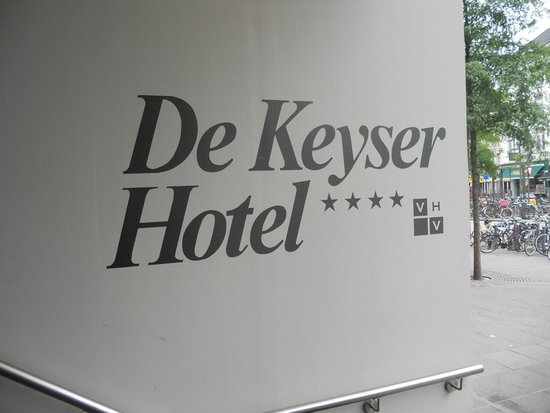 De Keyser Hotel: Ingang
