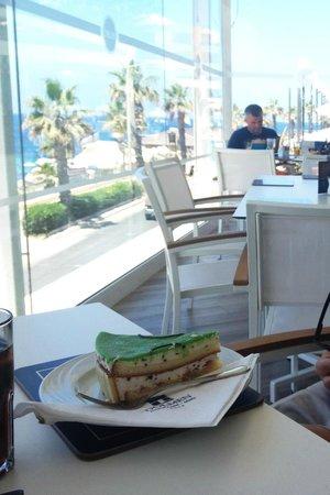 Cafe Delos: Desert- Cassata siciliana