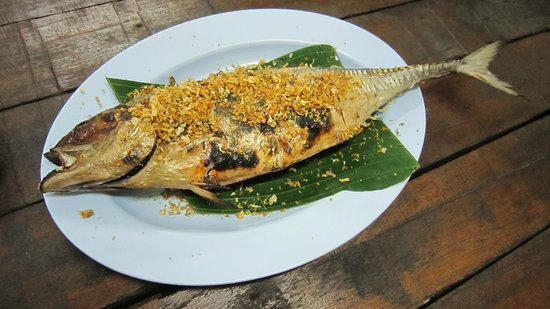 E-San Seafood: Grilled fish