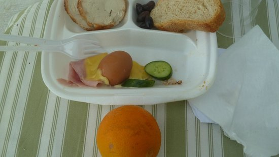 Elounda Ilion Hotel: Packed Lunch
