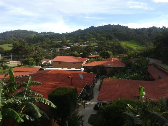 Hotel Cipreses Monteverde Costa Rica: vista desde balcón