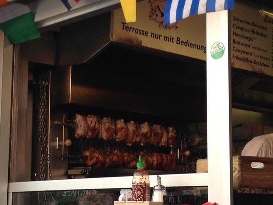 Schweine Janes: Stinchi in preparazione