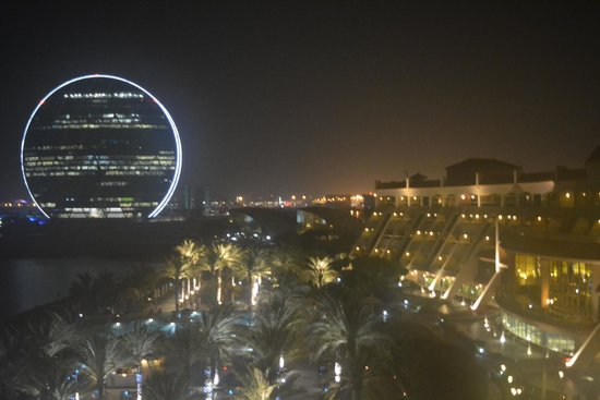 Al Raha Beach Hotel : View from our room at night
