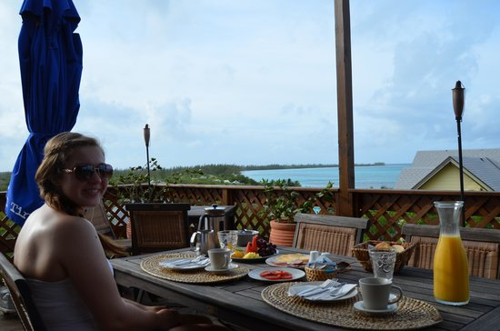 Shannas Cove Resort Restaurant: Great breakfast and great view!