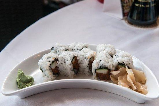 5 Palms Restaurant: Spicy Tuna Roll