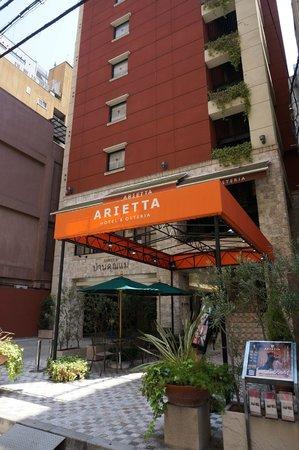 Arietta Hotel Osaka: 飯店外觀