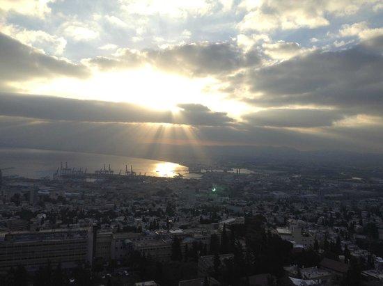 Crowne Plaza Hotel Haifa: Sunrise