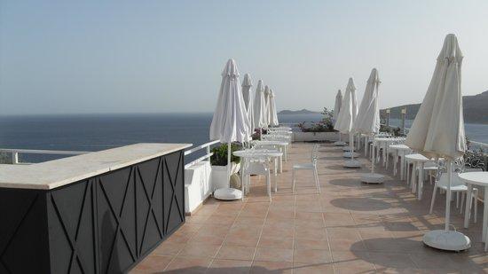 Kalamar Hotel : Breakfast terrace