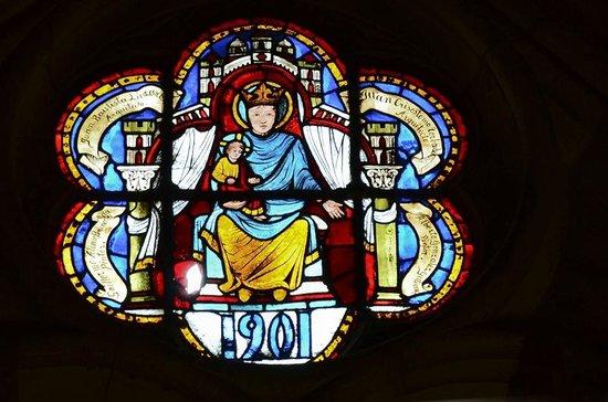 Catedral de León - Santa María de Regla: Витражи правого нефа