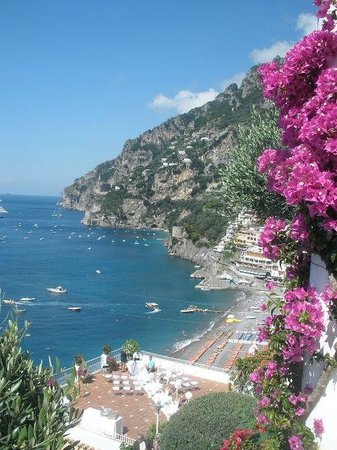 Hotel Marincanto: The view from the restaurant/breakfast terrace