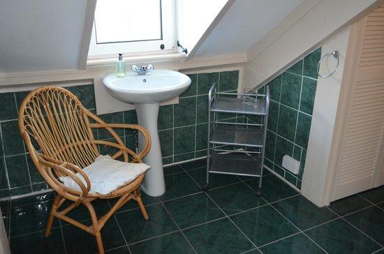 Bottreaux House Bed & Breakfast : Crow's Nest bathroom