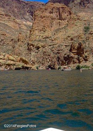 Canyon Lake: End of the lake at the beach :)