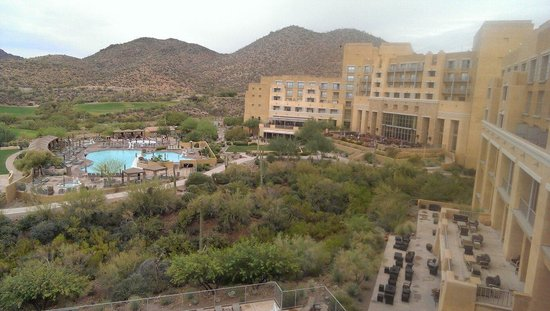 JW Marriott Tucson Starr Pass Resort & Spa: Breathtaking view from our room!