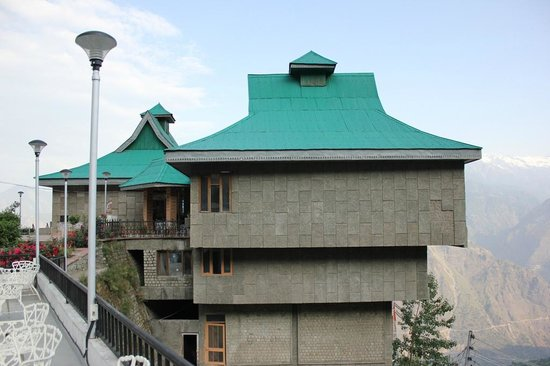 The Srikhand (HPTDC): hotel shrikhand facade