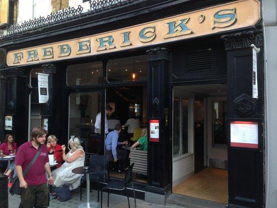 Fredericks Restaurant: front