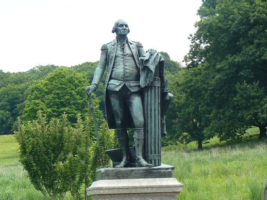 Valley Forge National Historical Park: Statue of George Washington