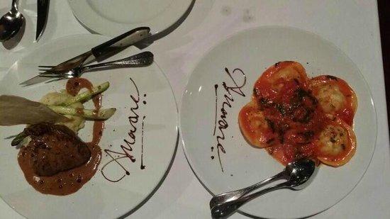 Ristorante Amarone: Steak and pasta