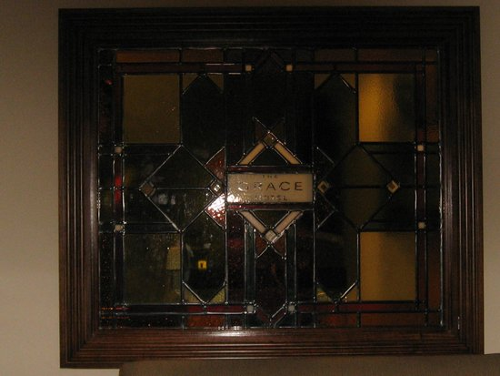 The Grace Hotel Sydney: Stained Glass Window