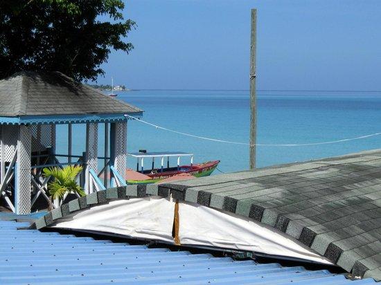 Legends Beach Hotel : Blick vom Balkon