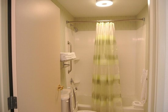 SpringHill Suites Portland Airport: Bathroom was clean
