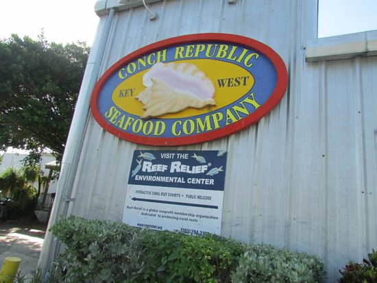 Conch Republic Seafood: On the Wharf