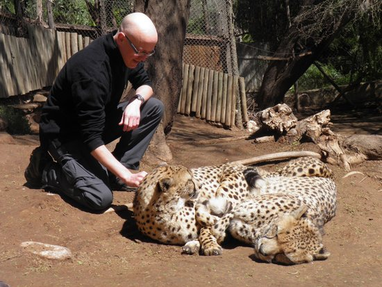 Cango Wildlife Ranch: Up close and personal!