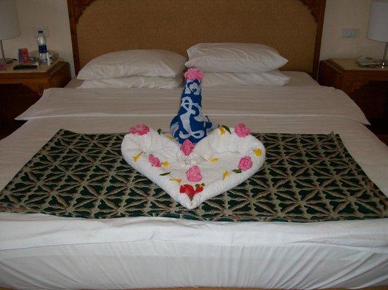 Parrotel Beach Resort: Подарок от уборщика