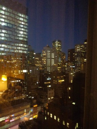 Cassa Hotel 45th Street New York: Vue de la chambre