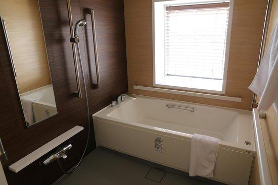 Holiday Inn ANA Kanazawa Sky : Shower/Tub Room