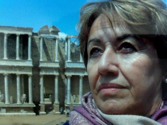 Anfiteatro Romano de Merida: eu e o passado
