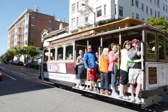 San Francisco Shuttle Tours: Cable Car fun