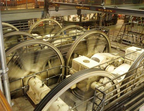 San Francisco Shuttle Tours: cable car museum