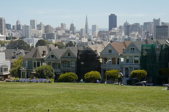 San Francisco Shuttle Tours: Painted Ladies