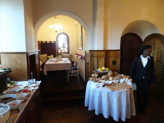 Hotel Heinitzburg: Frühstücksraum