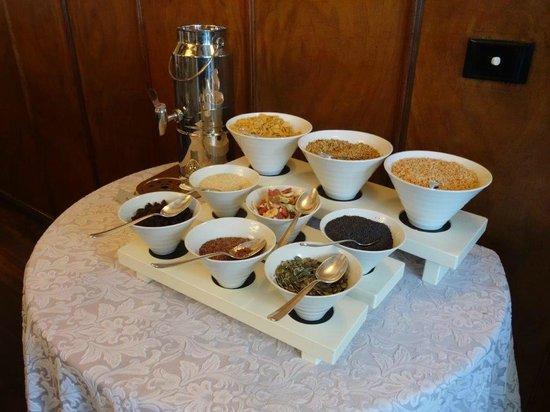 Hotel Heinitzburg: Teil vom Frühstücksbufett