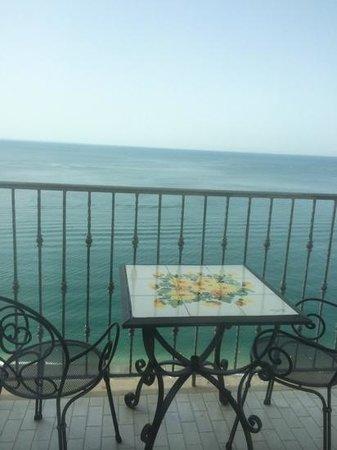 Lloyd's Baia Hotel: balconcino vista mare