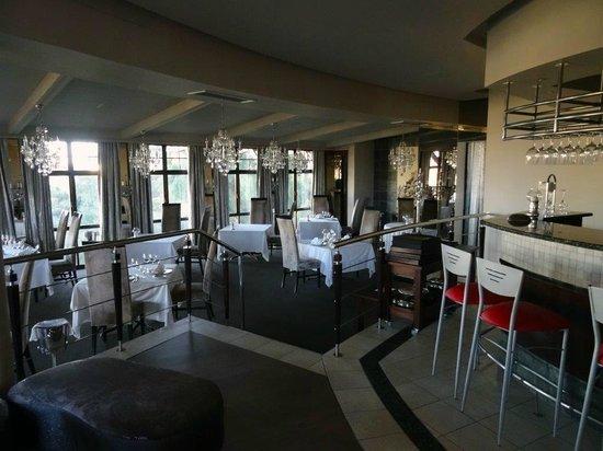 Hotel Heinitzburg: Speisesaal, allerdings ausserhalb der Öffnungszeit
