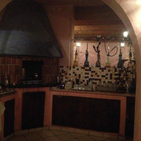Club Marmara Zahra : Café Maure, très agréable avec Mohamed