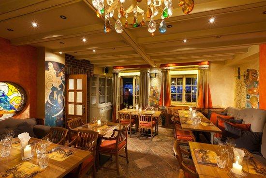 Goldwasser Restaurant: Sala Bankietowa z wyjściem na taras