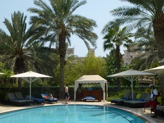 Jumeirah Dar Al Masyaf at Madinat Jumeirah : shaded. Pool at Villa 12