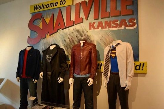 Warner Bros. Studio Tour Hollywood: Smallville Display