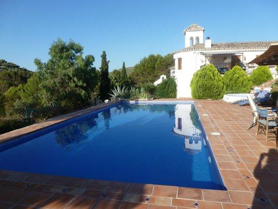 Cortijo Las Salinas: The pool