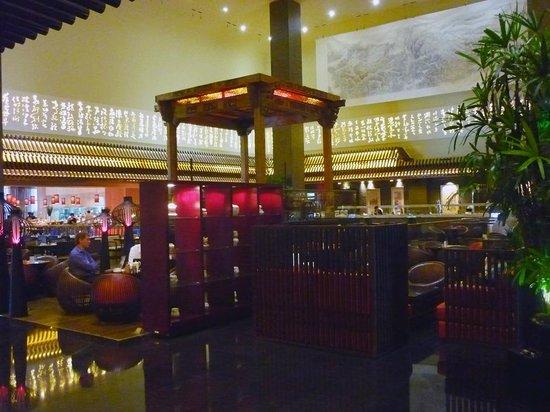 Jumeirah Himalayas Hotel Shanghai : Vista geral do lobby