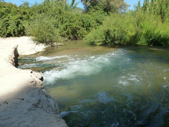 Cortijo Las Salinas: River
