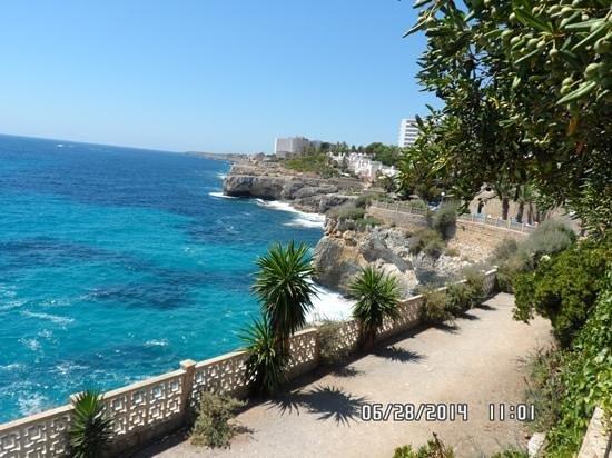 Complejo Calas de Mallorca : Great view from Balmoral