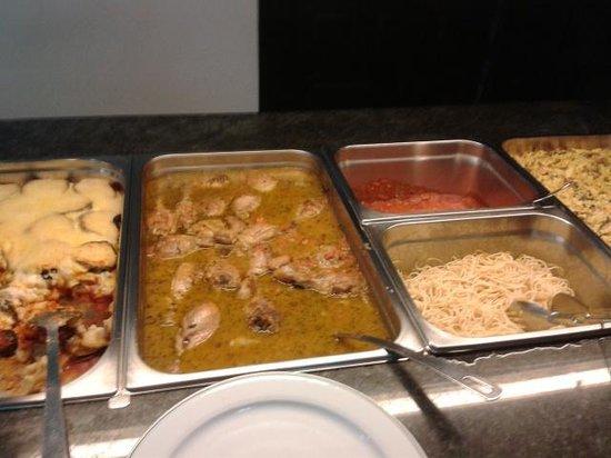 Brasilia: buffet cena